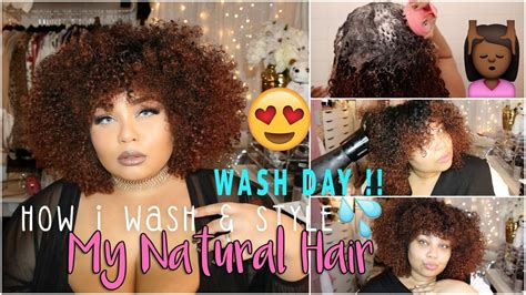 natural hair wash day wash style curly hair