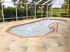 pool deck tile design ideas concrete designs florida travertine pool deck