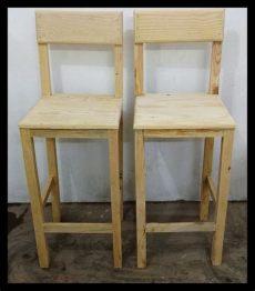 imagenes de bancos de madera para barra set 2 bancos de madera para barra bar desayunador etc 799 00 en mercado libre