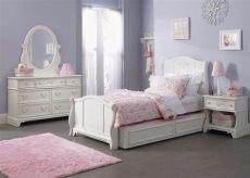 recamaras blancas para ninas recamara juvenil color blanco vintage modelo arielle 10 160 00 en mercado libre