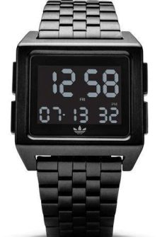montre adidas archive m1 montre adidas archive m1 all black z01 001 00 noir montres and co