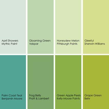 green paint picks bathrooms clockwise top left 1