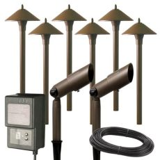 hton bay low voltage outdoor lighting manual hton bay low voltage aged brass outdoor halogen landscape path light and spot light kit with