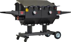 cajun fryer 17 gallon r v works ff6 cajun fryer outdoor fryer 17 gallon