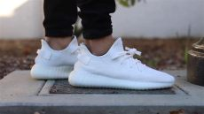 adidas yeezy boost 350 v2 on review - Yeezy 350 Cream On Feet