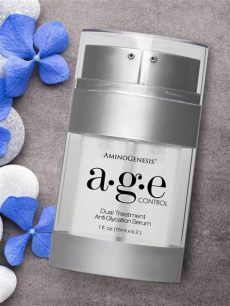 aminogenesis age control anti glycation serum skin defense aminogenesis