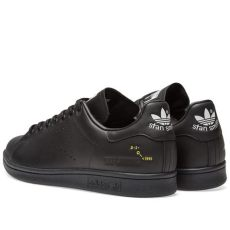 raf simons stan smith black adidas x raf simons stan smith black grey white end