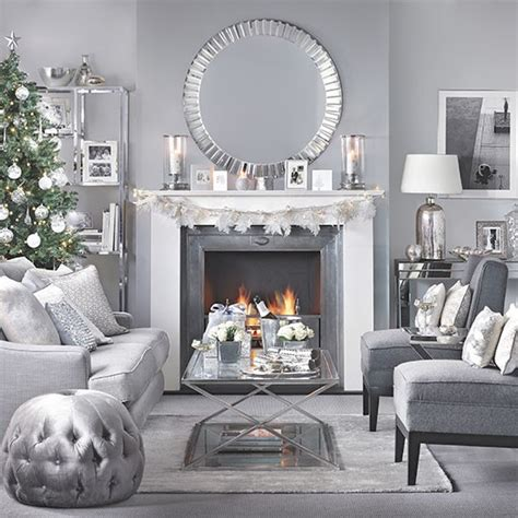 Silver And Grey Living Room Ideas
