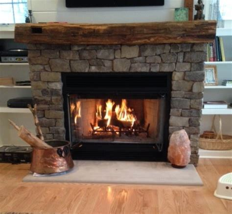 Rustic Wooden Fireplace Mantels
