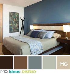 decoracion de recamaras pequenas matrimoniales color cafe habitaciones con toques chocolate 1 colores para dormitorios modernos colores para