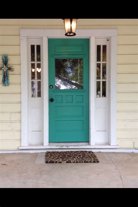 Front Door Paint Color For Yellow House.html