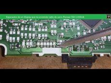 radio pioneer no enciende reparacion de un display que no enciende radio de carro pioneer deh 1350ub