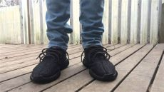yeezy boost 350 pirate black on feet yeezy boost 350 quot pirate black quot on foot review