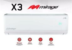 minisplit mirage x3 de 2 toneladas minisplit mirage absolut x3 1 ton 110v 6 620 00 en mercado libre