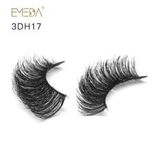 human hair lashes wholesale wholesale obeya human hair wispy clear band eyelashes zx07 obeya lashes