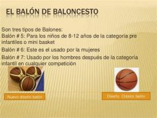 balon de basquetbol caracteristicas baloncesto 2014