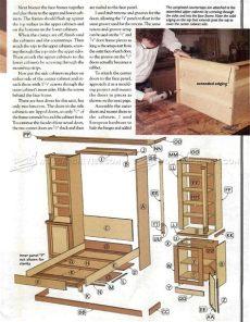 murphy bed desk plans pdf murphy bed plans woodarchivist