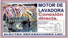 conectar motor lavadora c 243 mo conectar de forma directa un motor de lavadora e invertir su giro