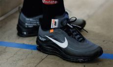 nike off white air max 97 black release a closer look at the new white x nike air max 97 black