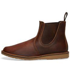 red wing weekender chelsea sizing wing weekender chelsea boot copper tough end