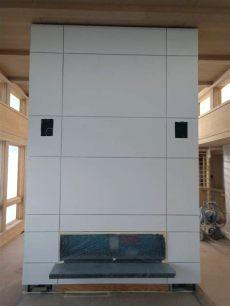 drywall reglet fry reglet fireplace project distinctive drywall