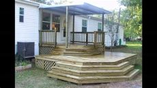 how to build a porch off a mobile home mobile home porch ideas