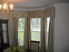 bay window cornice board window treatment ideas for bay windows mcfeely window fashions