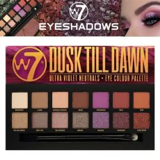 w7 dusk till dawn eyeshadow palette w7 cosmetics eyeshadow palette dusk till shimmery matte colour ultra violet 5060503768628