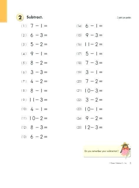 20 kumon worksheets grade 1 kumon math worksheets