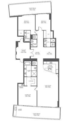 casa floor armani casa floor plans the regalia residence