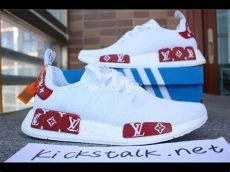 adidas nmd louis vuitton red louis vuitton x adidas nmd white bv1806 from kickstalk net