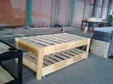 como hacer una base de madera para cama king size bases de madera para cama canguro matrimonial e individual 2 100 00 en mercado libre