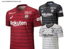 kit dls vissel kobe 2019 vissel 2019 asics home away and third kits 18 19 kits football shirt