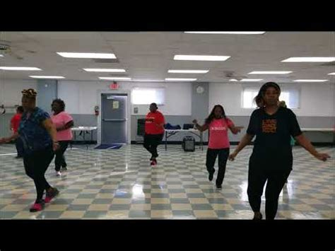 earthshake line dance step step instructional youtube