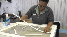 how to apply muntins to a standard pvc series 1000 sash window - Window Muntins Kit