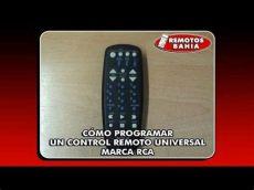 codigos para programar control universal rca c 211 mo programar configurar un remoto universal rca rcu404 remotos bahia