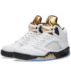 air jordan 5 retro white nike air 5 retro white black metallic gold