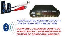 modulo bluetooth y usb modulo bluetooth con usb y radio para equipos y lificador s 79 98 en mercado libre