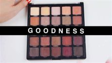 morphe 25a palette swatches morphe 25b bronzed mocha palette up swatches