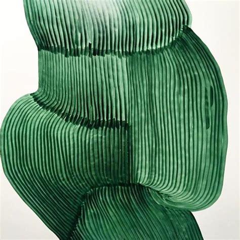 emerald green natural paint stroke inspiration art inspiration