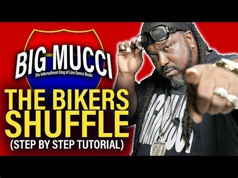 bikers shuffle line dance step step instructional youtube