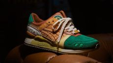 asics collaboration with 24 kilates is inspired by a railway - Asics Pattaya