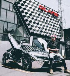 foto atta halilintar di mobil sultan sultan indonesia dengan koleksi mobil mobil mewahnya malangtimes