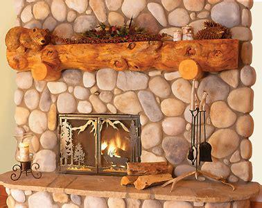 stairmeister log mantles