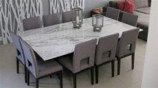 comedor de marmol 10 sillas makare muebles e interiores comedores