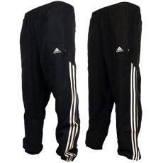 mens adidas 3 stripe cuffed stinger track pant bottoms tracksuit ebay - Adidas Track Bottoms Mens
