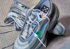 nike off white air max 97 black release white nike air max 97 menta release date sneakernews