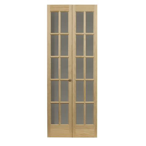 shop pinecroft 10 lite french solid core pine