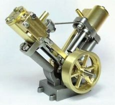 live steam engine kits for sale live steam v cylinder marine model steam engine fully machined metal kit ebay