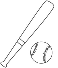 baseball team coloring pages coloring pages for adults coloring bat coloring pages - Printable Baseball Bat Coloring Pages